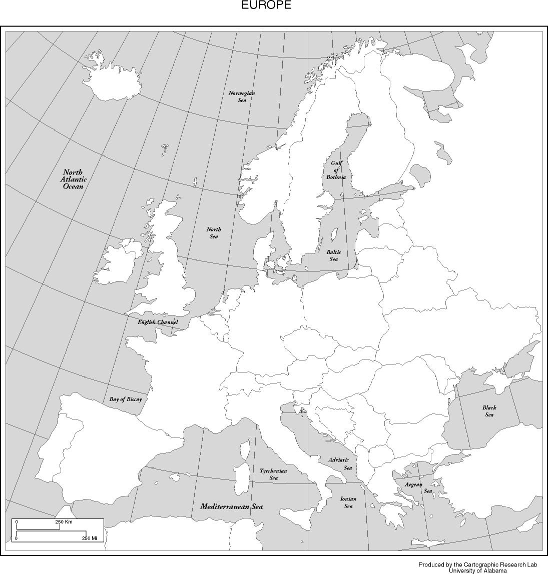 Honors Euro LA Classwork MR DORANS WEBSITE - Blank map of the world for students